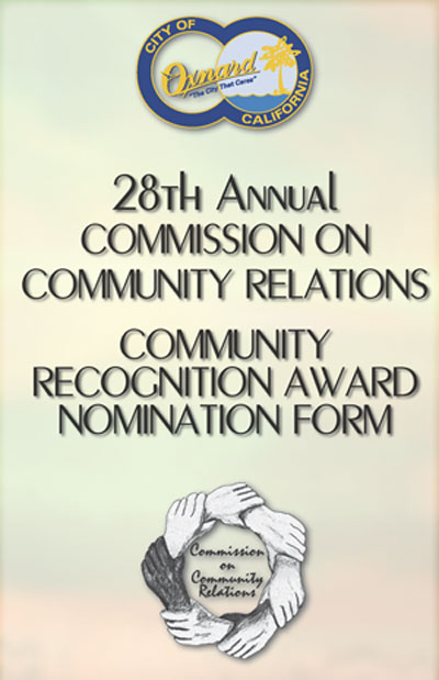 Click here for Community Awards Nomination form