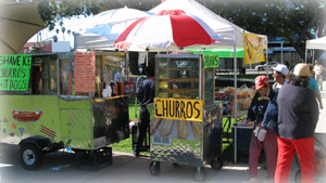 Farmers Market Food Stands