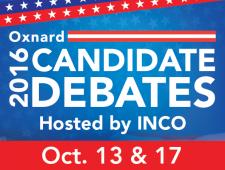 2016 Oxnard Candidate Debates Web Banner