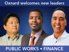 New leaders in Finance & Public Works