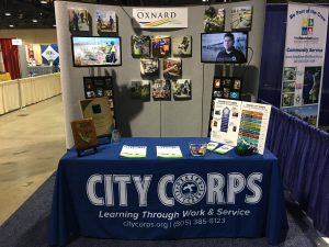 City of Oxnard booth at 2016 League of California Cities Conference & Expo