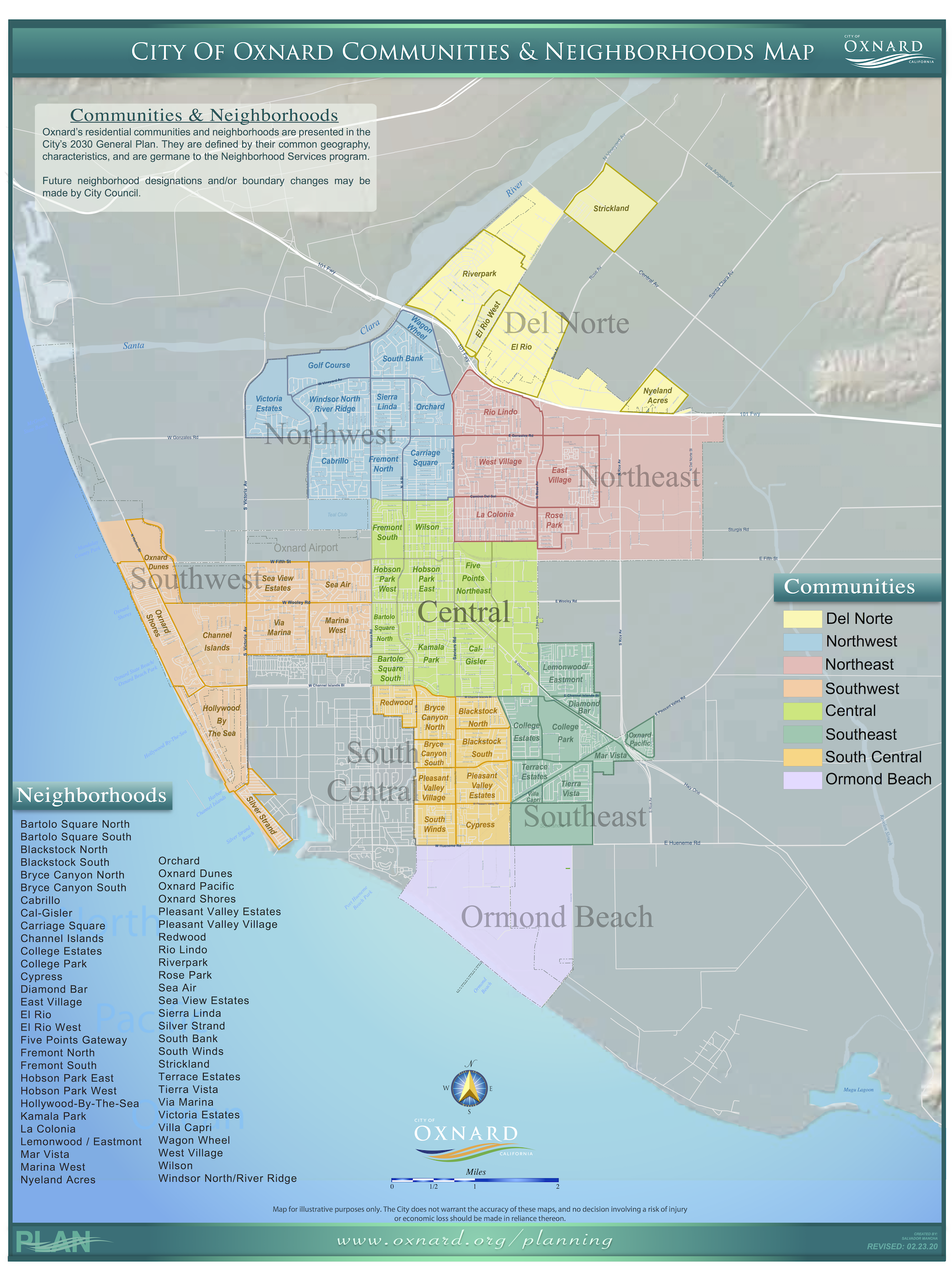 InterNeighborhood Council Organization INCO City Of Oxnard