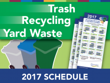 Trash Schedule 2017
