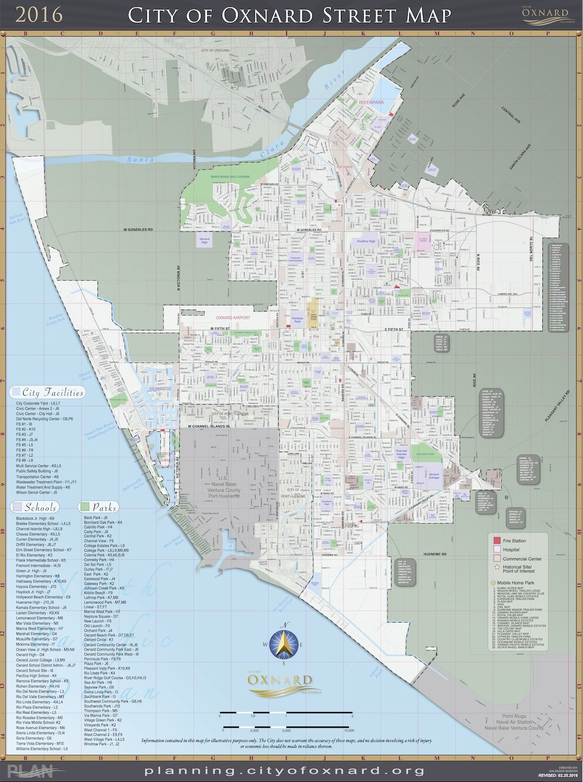 Maps City Of Oxnard