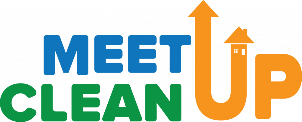 Meet Up Clean Up Logo
