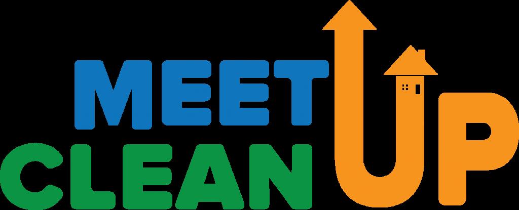 Meet Up Clean Up Logo