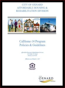 CalHOME Program Policies