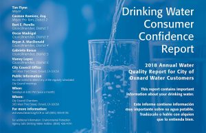 2018 Drinking Water Consumer Confidence Report