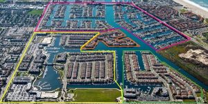 Ariel View of the Oxnard Waterways